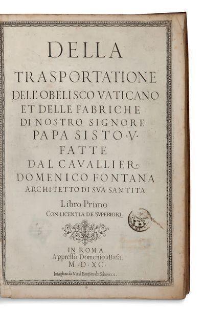 DOMENICO FONTANA (1543-1607)