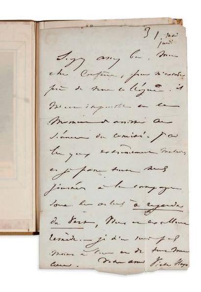 Victor Hugo (1802-1885) Le Télégraphe. Satire. A Paris, chez Delaunay, Dentu, Petit...