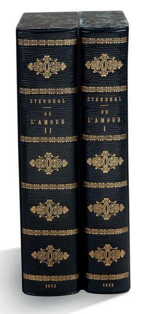 [HENRI BEYLE, DIT STENDHAL] (1783-1842) De L'Amour. Par l'auteur de l'histoire de...
