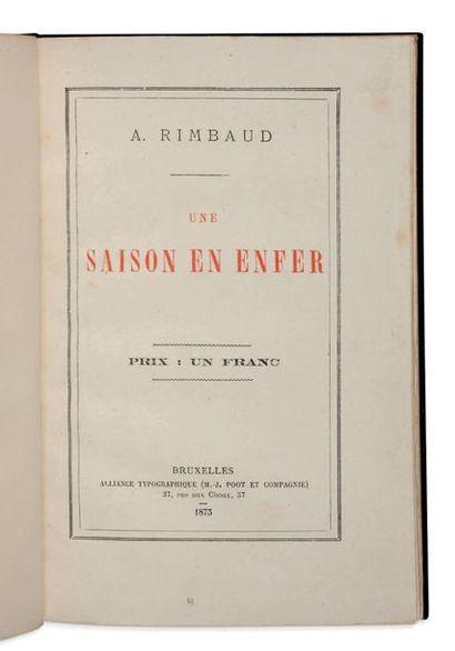 JEAN-ARTHUR RIMBAUD (1854-1891)