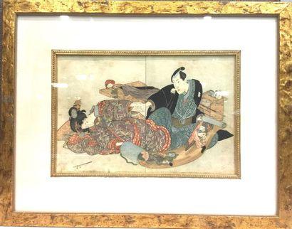 JAPON<br/>KUNISADA (1786-1865)