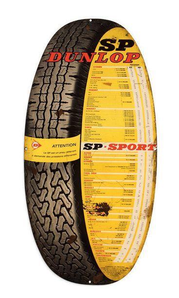 TOLES PEINTES Lot de 4 pièces: - Avia: 85 X 100 cm - Pang'Oil 50 X 70 cm - Dunlop...
