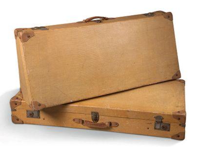 CITROËN DS Jeu de deux valises pour Citroën DS Bel état d'origine.