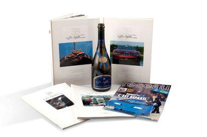 BUGATTI EB 110 Kakemono Bugatti ayant servi le jour du lancement de l'EB 110 à La...