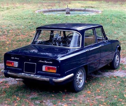 1976 ALFA ROMEO GIULIA NUOVA SUPER 1300 Caractère du moteur Alfa double arbres Même...