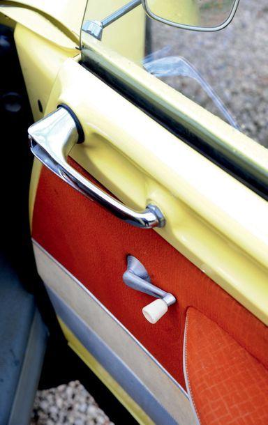 1958 CITROEN DS 19 Deuxième main depuis 1993 Parfait état de fonctionnement Jaune...