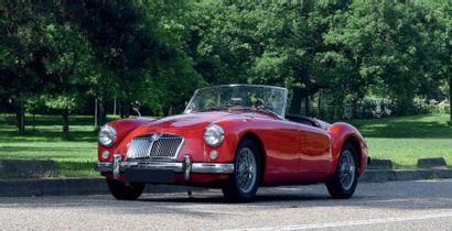 1958 MG A ROADSTER 1600 Plus de 30 000 € de factures sur 5 ans ! Agréable à utiliser...
