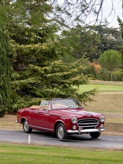 1957 PEUGEOT 403 CABRIOLET Très bel état général Valeur d'expertise en 2018 établie...