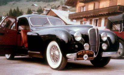 1949 DELAHAYE 135 M COACH «GASCOGNE» PAR DUBOS EX PHILIPPE CHARBONNEAUX – COLLECTION...
