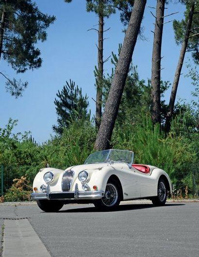 1955 JAGUAR XK 140 SE ROADSTER Certificat Jaguar Heritage Trust, Matching numbers...