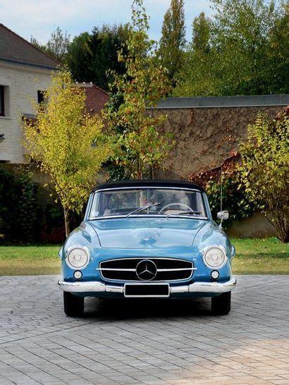 1963 MERCEDES BENZ 190 SL Vendue neuve en France Historique connu Matching numbers...