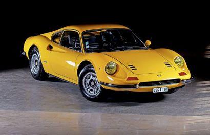 1973<br/>FERRARI DINO 246 GT SÉRIE E