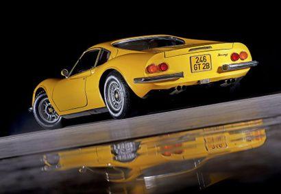 1973 FERRARI DINO 246 GT SÉRIE E Depuis 30 ans dans la collection Un des très rares...