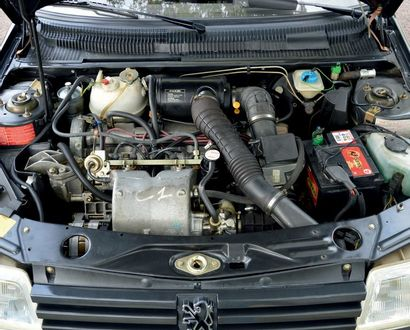 1987 PEUGEOT 205 GTI 1.9 MOINS DE 6 800 KM D'ORIGINE Version la plus désirable Etat...