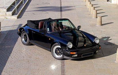 1986<br/>PORSCHE 911 CARRERA 3.2 CABRIOLET