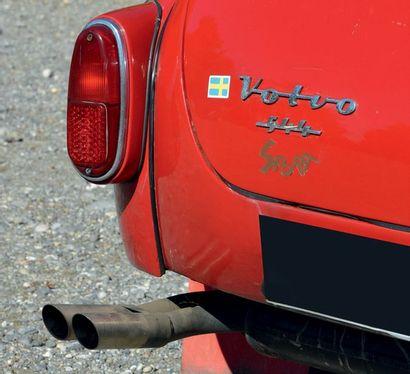 1960 VOLVO PV 544 COLLECTION DU DR. B. Moteur neuf Mécanique robuste et fiable Eligible...