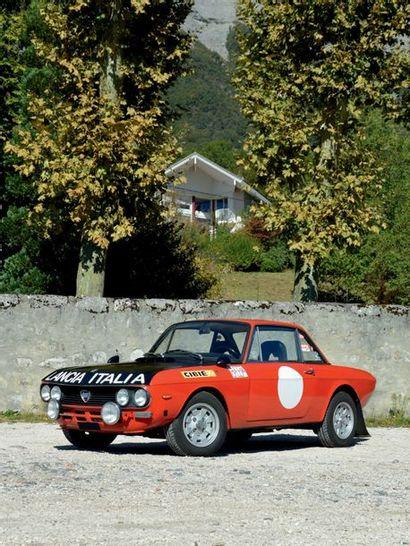 1973 LANCIA FULVIA 1600 HF COLLECTION DU DR. B. Belle présentation Bon fonctionnement...