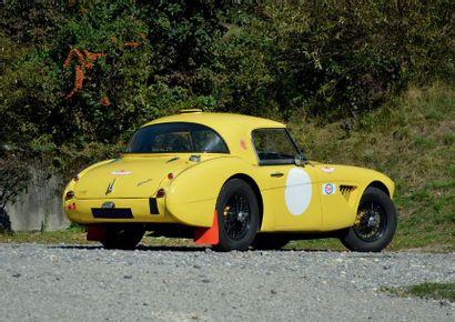 1957 AUSTIN HEALEY 100/6 COLLECTION DU DR. B. Véhicule coursifié Moteur 3000 cc Eligible...