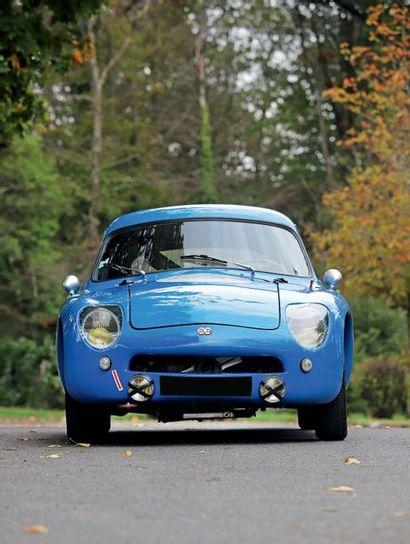 1960 D.B HBR 5 COACH SUPER RALLYE Voiture intégralement restaurée, historique connu...