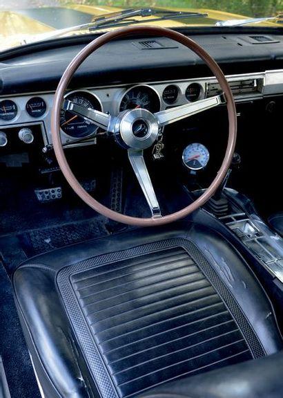 1966 PLYMOUTH BARRACUDA Française d'origine Boite mécanique Eligible au Monte Carlo...