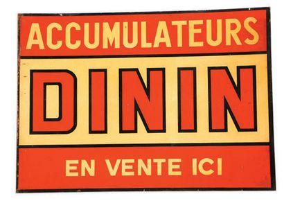 DUCELLIER Plaque en tôle émaillée double face Emaillerie Alsacienne Strasbourg Hoenheim...