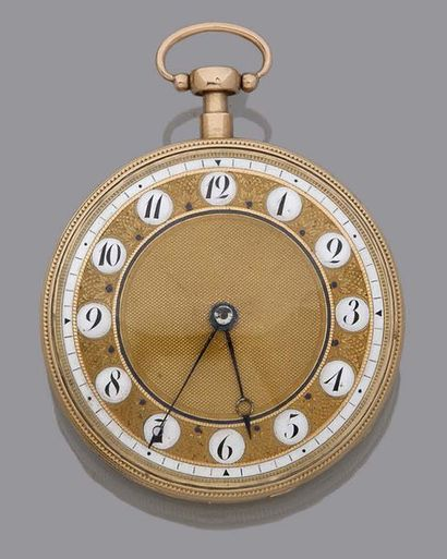 MONTRE à MUSIQUE Anonyme. Vers 1820. Rare...