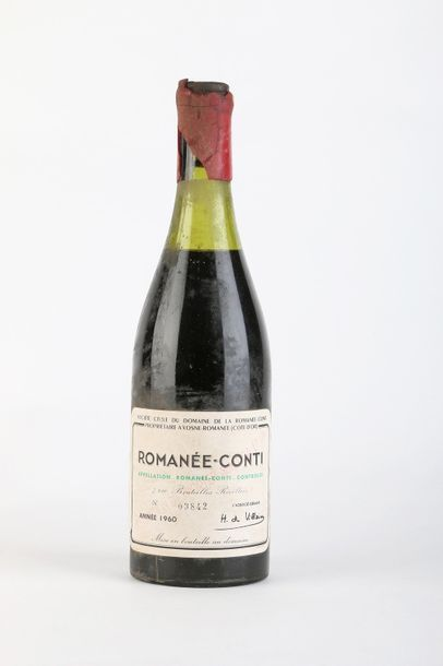 1 B ROMANÉE CONTI (Grand cru) 5 cm; e.l.a;...