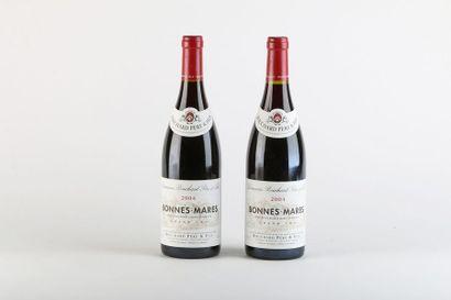 2 B BONNES-MARES (Grand Cru) - 2004 - Bouchard...
