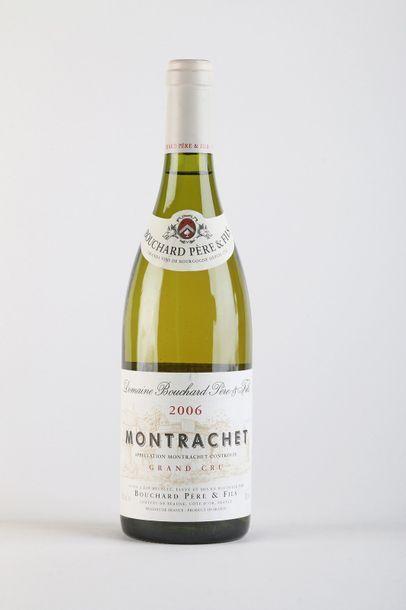 1 B MONTRACHET (Grand Cru) - 2006 - Bouchard...