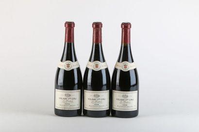 3 B VOLNAY LES BROUILLARDS (1er Cru) - 1998...