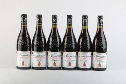 6 B CHATEAUNEUF DU PAPE LA BERNARDINE - 1997...