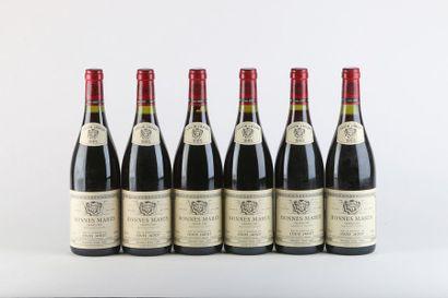 6 B BONNES-MARES (Grand Cru) - 1995 - Louis...