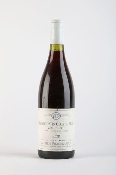 1 B CHAMBERTIN CLOS DE BÈZE (Grand Cru) e.t.h....