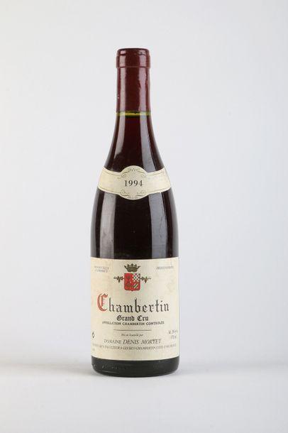 1 B CHAMBERTIN (Grand Cru) e.t.h. légères,...