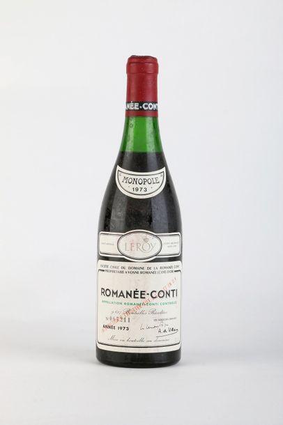 1 B ROMANÉE CONTI (Grand Cru) 3,3 cm; e.t.h....
