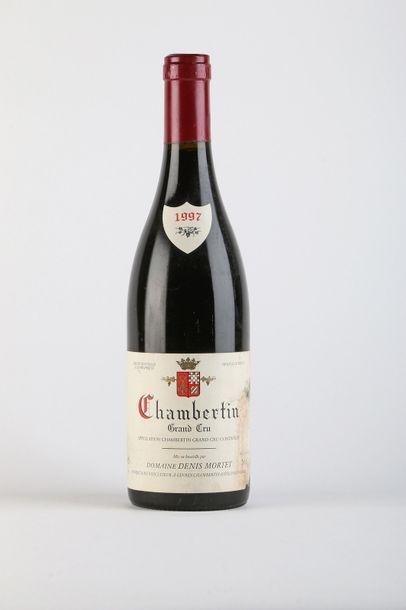 1 B CHAMBERTIN (Grand Cru) e.t.h. à e.a. - 1997 - Denis Mortet