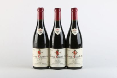 3 B GEVREY-CHAMBERTIN AU VELLÉ - 1998 - Denis...