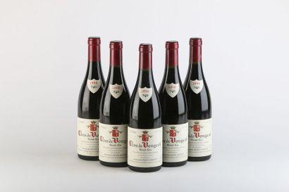 5 B CLOS DE VOUGEOT (Grand Cru) - 1998 -...