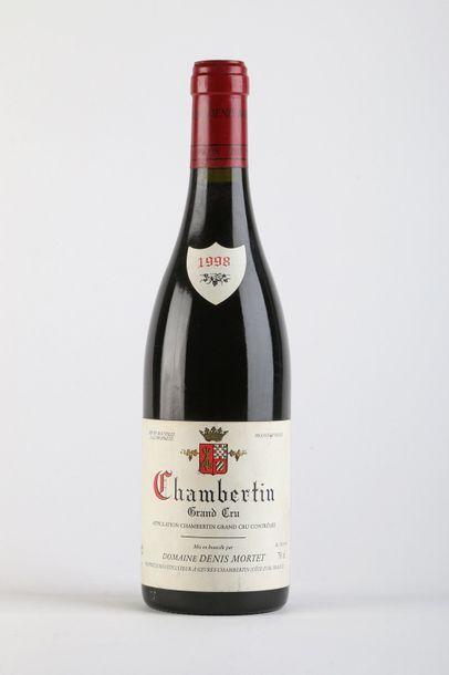 1 B CHAMBERTIN (Grand Cru) - 1998 - Denis...