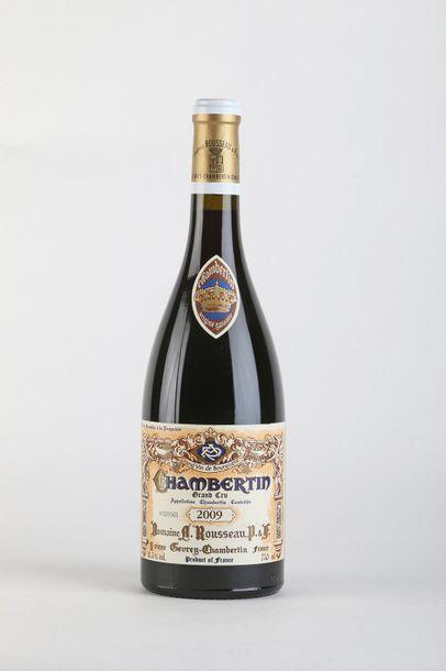 1 B CHAMBERTIN (Grand Cru) - 2009 - Armand...
