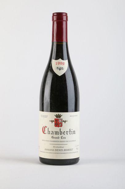 1 B CHAMBERTIN (Grand Cru) - 1999 - Denis...