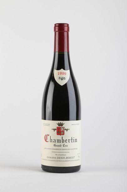 1 B CHAMBERTIN (Grand Cru) 2 accroc infimes étiquette - 1999 - Denis Mortet