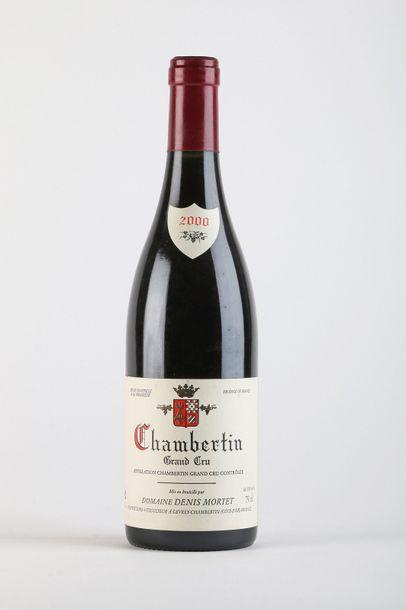 1 B CHAMBERTIN (Grand Cru) - 2000 - Denis...