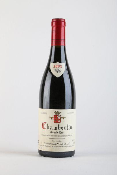 1 B CHAMBERTIN (Grand Cru) e.l.s. - 2002...