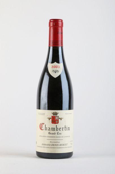 1 B CHAMBERTIN (Grand Cru) - 2003 - Denis...