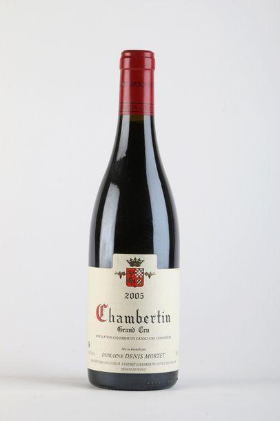 1 B CHAMBERTIN (Grand Cru) - 2005 - Denis...