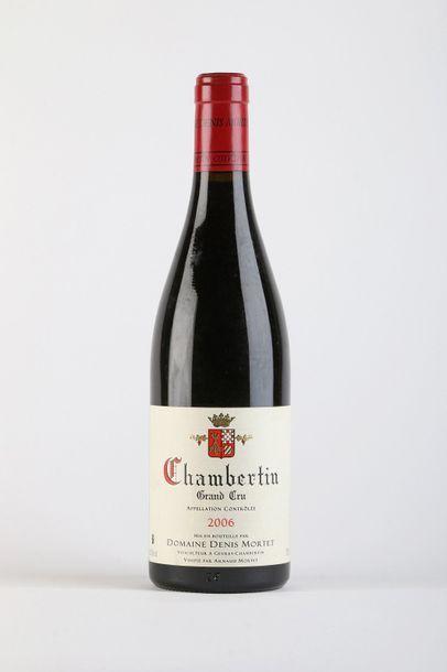 1 B CHAMBERTIN (Grand Cru) - 2006 - Denis...