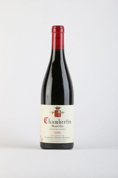 1 B CHAMBERTIN (Grand Cru) e.l.a. - 2006...