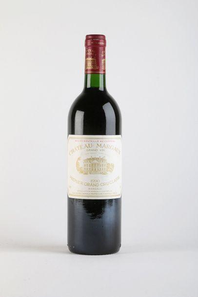 1 B CHÂTEAU MARGAUX (e.t.h. légères) - 1990...