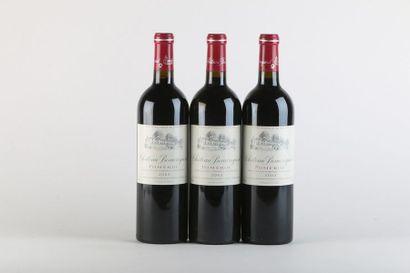 3 B CHÂTEAU BEAUREGARD - 2003 - Pomerol